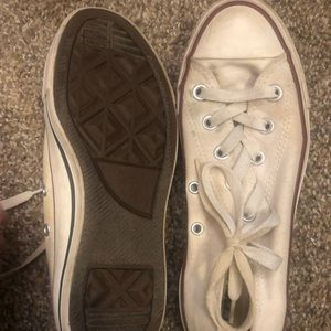 Old white converse